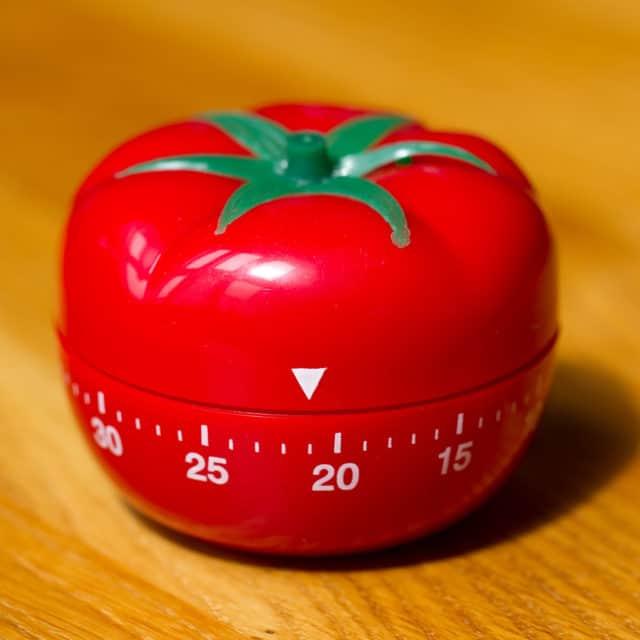Técnica Pomodoro – Usando um tomate para a aprender línguas